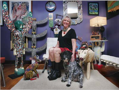 Collector finds passion in 'outsider art'