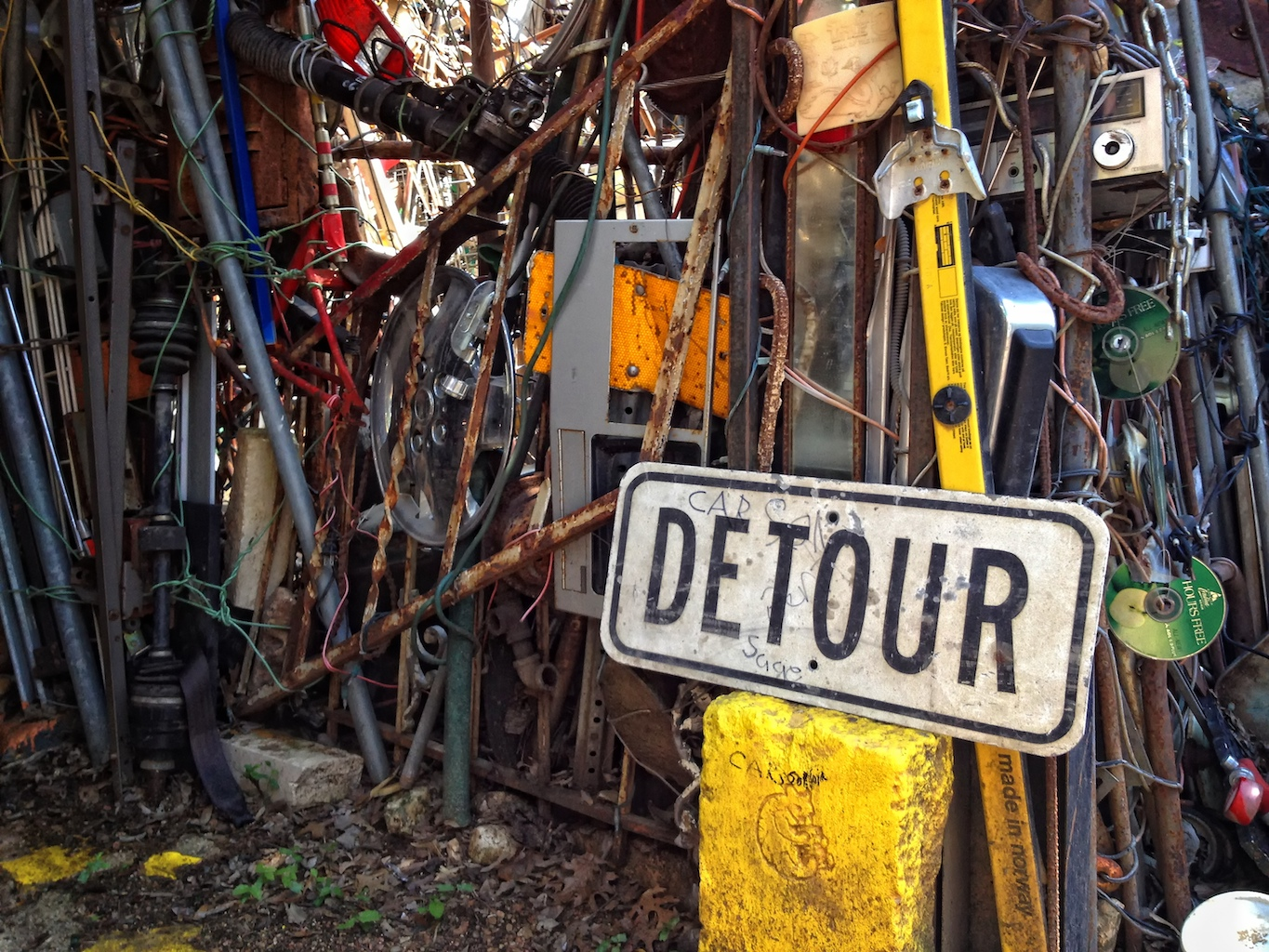 Detour this weekend