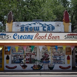"""Sorry, We're Open"" — The Snow Cap Drive-In"