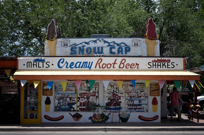 """""""Sorry, We're Open"""" — The Snow Cap Drive-In"""