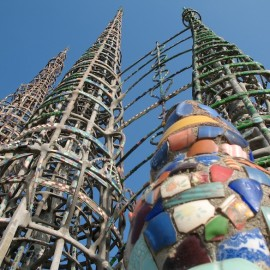 """I had it in my mind to do something big and I did."" – Simon Rodia, Watts Towers"