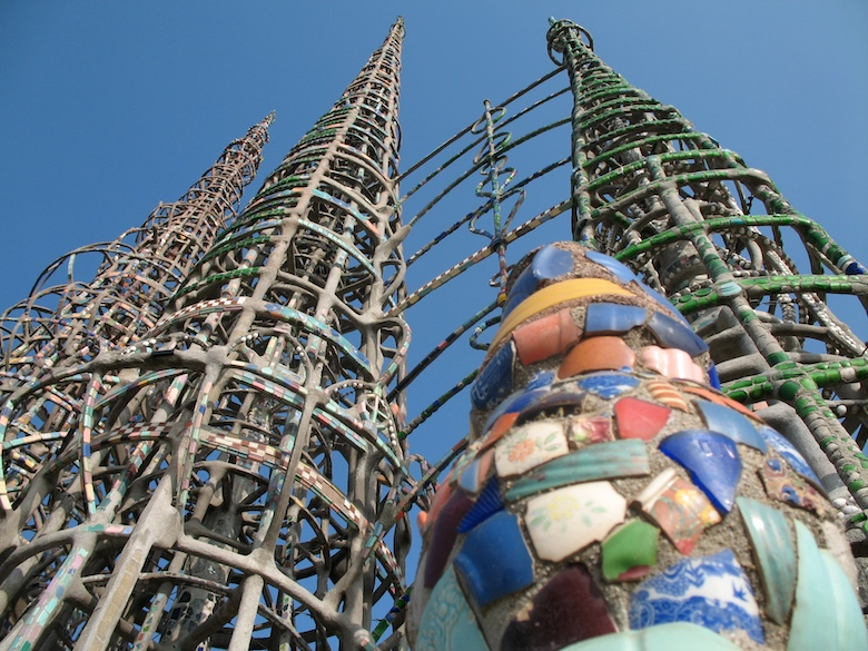 """""""I had it in my mind to do something big and I did."""" – Simon Rodia, Watts Towers"""