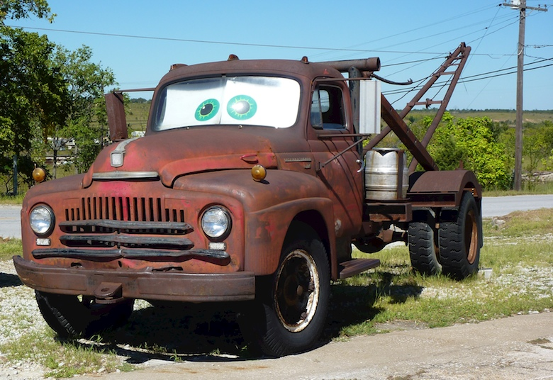 Meet the inspiration for Tow Mater