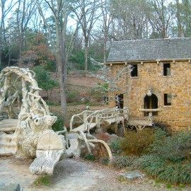 Trabajo rustico masterpiece in Arkansas was featured in Gone with the Wind