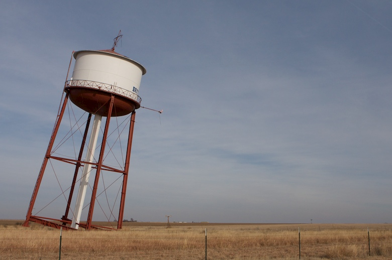 The Leaning Water Tower of Britten