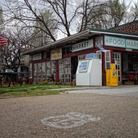 The oldest continuously operating business on Route 66