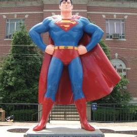 Truth, justice, and the American way. Welcome to the home of Superman