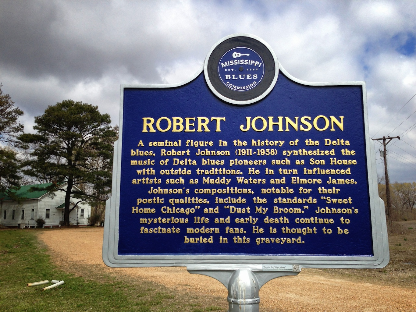 The many grave markers of Robert Johnson
