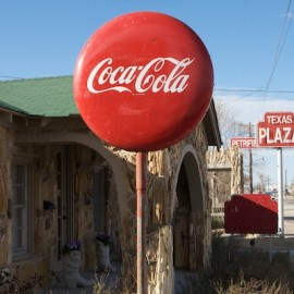 One of the last stops for Bonnie and Clyde – the Petrified Wood Gas Station