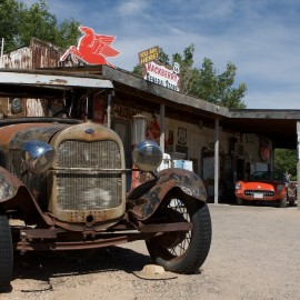 "Hackberry General Store – Inspiration for  ""Cars"""