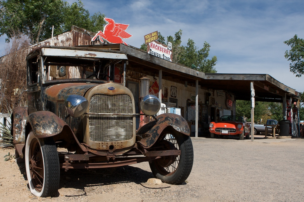 """Hackberry General Store – Inspiration for  """"Cars"""""""