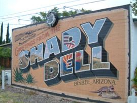 Skip the traditional motel – Shady Dell Trailer Court