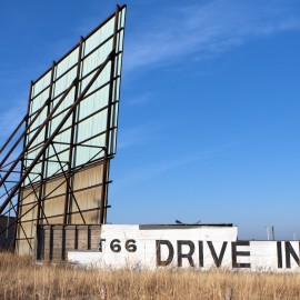 Fellow road tripper to document disappearing drive-in theaters